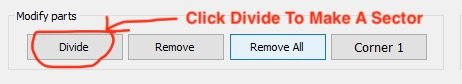 Use this button in AiM Race Studio to cut your splits on the track map
