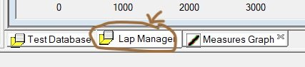 How to move the start line in AiM studio - Load lap manager